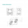 aircycle 3.1 heat recovery ventilation system product dimensions