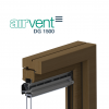 airvent DG 1500 glazed in window vent
